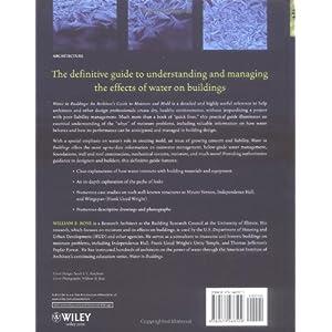 Water in Buildings: An Ar Livre en Ligne - Telecharger Ebook