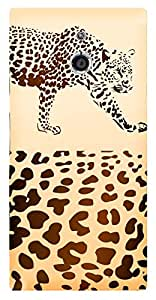 TrilMil Printed Designer Mobile Case Back Cover For Sony Xperia P
