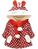Little Hand Baby-Mädchen Jacke Dot Bedruckt Mäntel ,0-3...