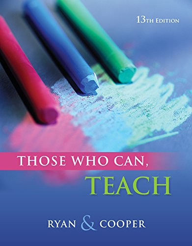 Coursemate Online Study Tool Access To Accompany Ryan/Cooper'S Those Who Can, Teach [Instant Access]