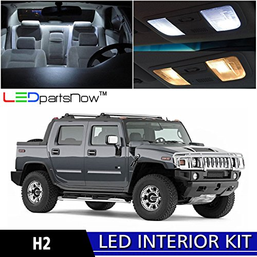 ledpartsnow-hummer-h2-2003-2009-xenon-white-premium-led-interior-lights-package-kit-15-pieces-instal
