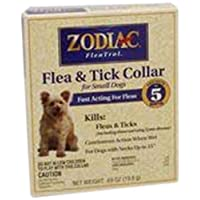 Zodiac Flea & Tick Collar for Small Dogs, 15'