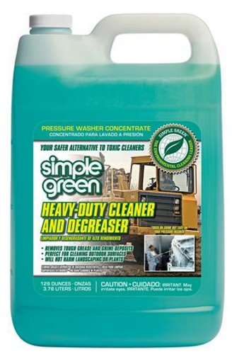 Simple Green 18203 Heavy Duty Cleaner and Degreaser, 1 Gallon Bottle (Heavy Duty Green Cleaner compare prices)