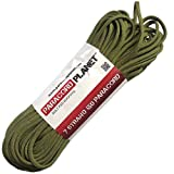 Paracord Planet 10 550lb Type III Moss Paracord
