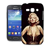 Marilyn Monroe in Gold Phone Hard Shell Case for Samsung Galaxy S3 S4 S5 Mini Ace Nexus Note & more - Samsung Galaxy Ace 3 S7272