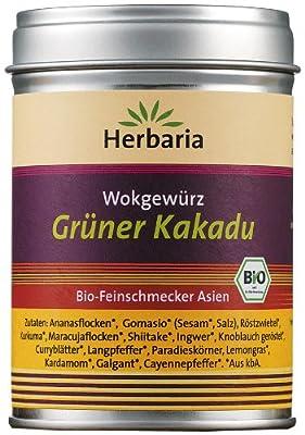 Herbaria Grüner Kakadu, 1er Pack (1 x 85 g Dose) - Bio von Herbaria bei Gewürze Shop