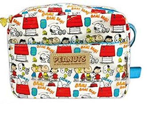 Authentic Peanuts Snoopy Dog Crossbody Shoulder Bag Purse Blue front-262361