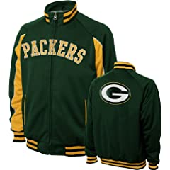 Green Bay Packers Mens Track Jacket by G-III Sports
