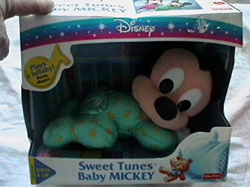 Fisher Price Mattel Disney Sweet Tunes Baby Mickey Plays A Lullaby Vintage front-109337