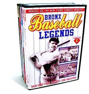 Baseball: New York Baseball Collection (Bronx Baseball Legends, Volumes 1 & 2 / Dem Bums: History of the Brooklyn Dodgers / Baseball Dynasty: The History of the New York Yankees / The Jackie Robinson Story)