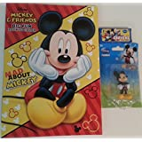 Disney Mickey Mouse Mini Fun Pack Bundle Of 3 Items: Mickey & Friends Mad About Mickey Big Book Fun