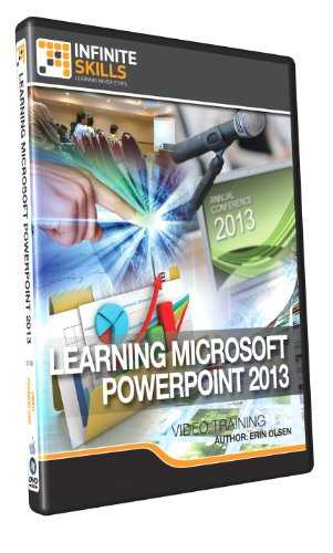 Learning Microsoft PowerPoint 2013 Training DVD (PC/Mac)