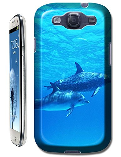 New Style Top Selling Group Dolphins Swimming Under The Sea Cell Phone Cases For Samsung Glaxy S3 I9300