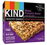 KIND Healthy Grains Granola Bars, Maple Pumpkin Seeds with Sea Salt, 5 Count (Pack of 3)