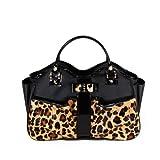 Mia Bossi Caryn Diaper Bag, Leopard