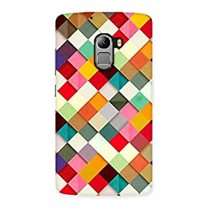 Magnificent ColorFull Ribbons Print Back Case Cover for Lenovo K4 Note