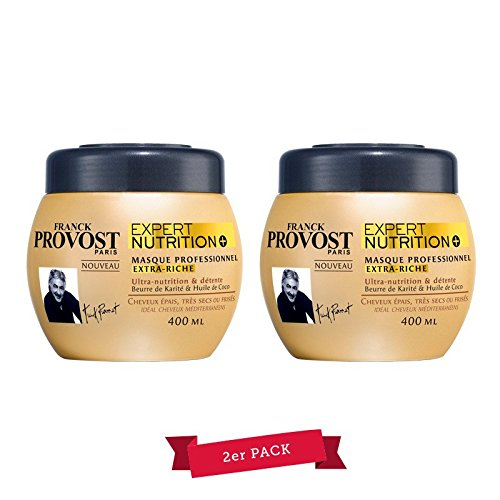 Franck Provost Expert Nutrion + Kur per capelli di professionale, 2x 400ml