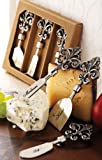 Fleur De Lis Cheese Set Set of 3