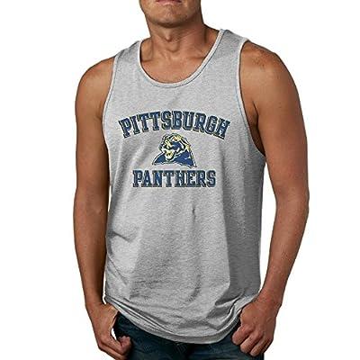 PTCY Panther Logo Men's Custom Vest Fashion Ash