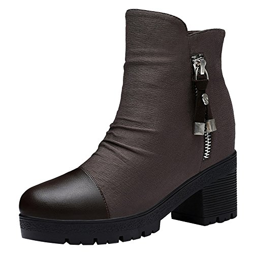 fq-real-balck-friday-womens-breathable-side-zipper-block-heel-cap-toe-platform-booties-4-ukbrown