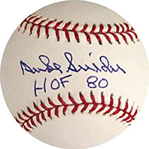 Duke Snider HOF 80 Autographed Signed Montreal Expos Baseball by Hollywood+Collectibles