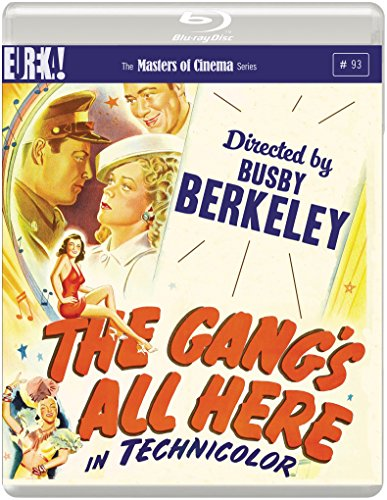 The Gang's All Here ( 1943 ) ( The Girl He Left Behind (The Gang is All Here) ) [ NON-USA FORMAT, Blu-Ray, Reg.B Import - United Kingdom ]