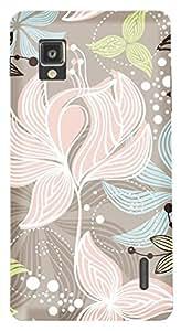 TrilMil Printed Designer Mobile Case Back Cover For LG Optimus G E975