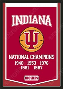 Dynasty Banner Of Indiana Hoosiers-Framed Awesome & Beautiful-Must For A... by Art and More, Davenport, IA