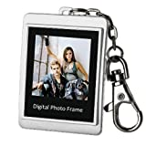 Silver 1.5″ LCD 16MB Digital Photo Frame Picture Album Clock Calendar Keychain thumbnail