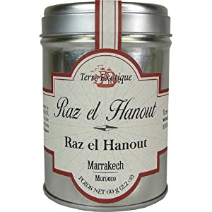Raz el Hanout Moroccan Spice Mix Terre Exotique by Terre Exotique