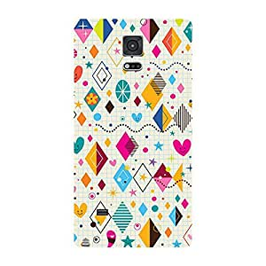Garmor Designer Silicone Back Cover For Samsung Galaxy Note 4 SM N910