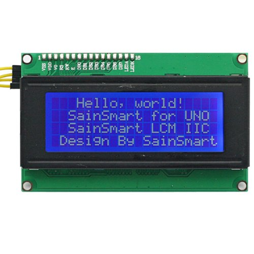 SainSmart Sensor Shield V4 Module + LCD2004 for Arduino UNO MEGA R3 ATMEL AVR