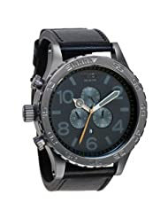 Nixon Men's A124-680 Stainless-Steel Analog Grey Dial Watch