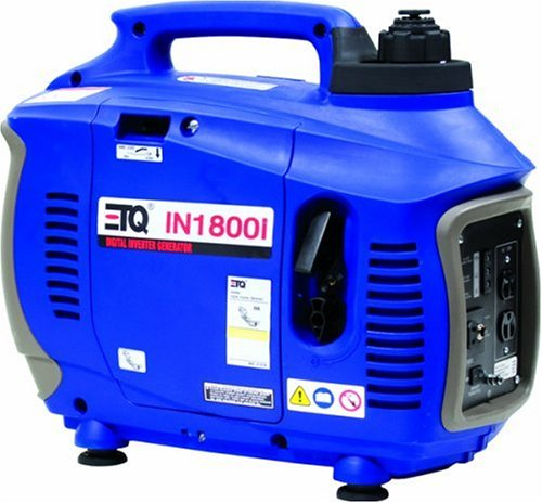 ETQ IN1800I 1,800 Watt 3.4 HP 4-Stroke OHV Portable Digital Inverter Generator