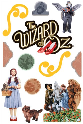 Paper House STDM-0033E 3-Pack 3D Cardstock Stickers, Oz-Wizard of Oz