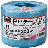 TRUSCO PPテープ 青 50mm×300m TPP50300B
