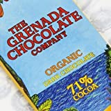 Grenada Chocolate Organic dark chocolate 71% Bio Silber Medaille Academy of Chocolate garantiert nussfrei aus der Karibik