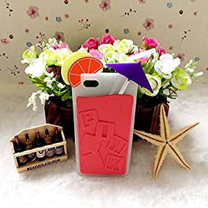Victoria's Watermelon Drink Cup Silicone Case For Iphone 5/5S