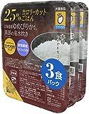 大塚 マンナンヒカリの25%カロリーカットごはん (160g×3個P)×2個