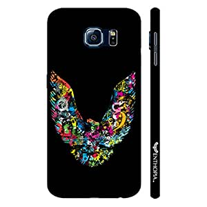 Samsung Galaxy S6 COLORFUL EAGLE designer mobile hard shell case by Enthopia