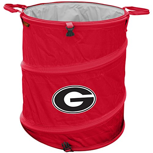 Georgia Bulldogs Trash Can Cooler (Collapsible Trash Can For Camping compare prices)
