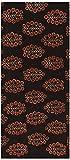 Chandni Women's Cotton Unstitched Kurta Material (Brown)