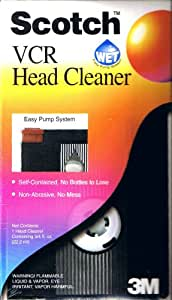 Scotch VCR Head Cleaner Plus