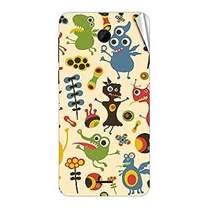 Garmor Designer Mobile Skin Sticker For Intex Aqua 3G Neo - Mobile Sticker