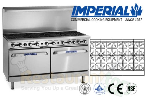 Imperial-Commercial-Restaurant-Range-60-W-10-Burners-Standard-OvenCabinet-Base-Nat-Gas-Ir-10-Xb