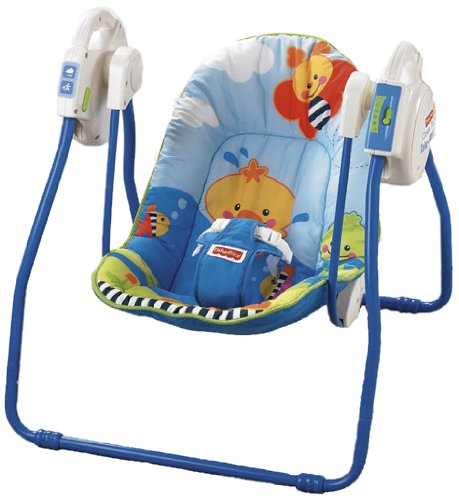 Fisher-Price Friendly First Take Along Swing