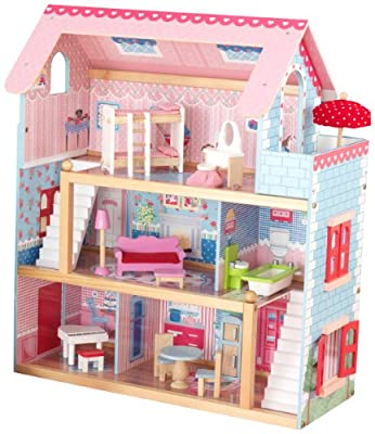 KidKraft Chelsea Doll Cottage with Furniture from KidKraft