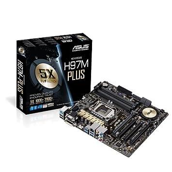 ASUS ATX DDR3 2600 LGA 1150 Motherboards H97 PLUS