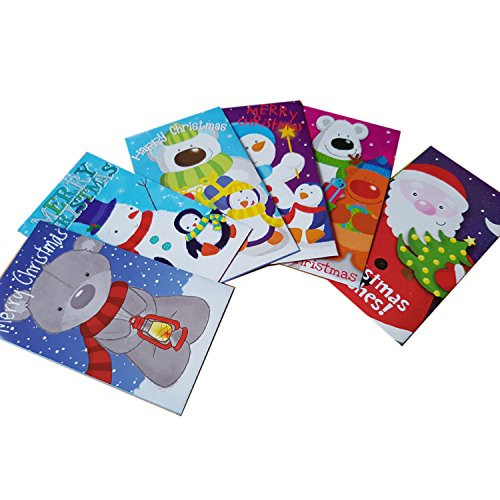 christmas-money-paper-wallet-package-of-6-different-paper-wallets-portefeuille-brieftasche-portafogl