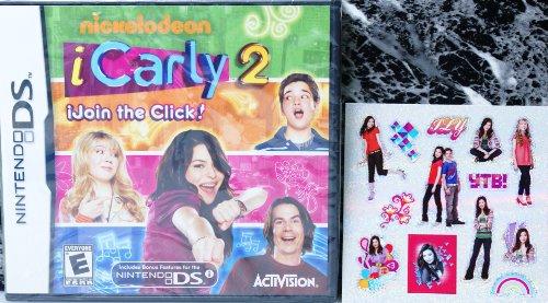 アイカーリー DS ソフト icarly 2 iJoin the Click. ステッカー付  任天堂 NINTENDO 輸入商品
